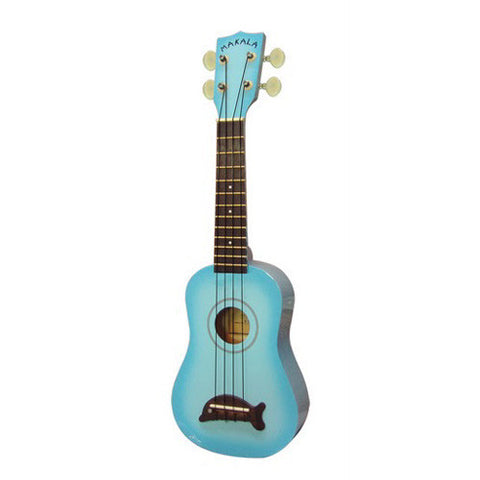 Makala Dolphin Ukulele Light Blue