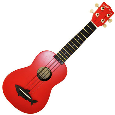 Makala Shark Ukulele Red