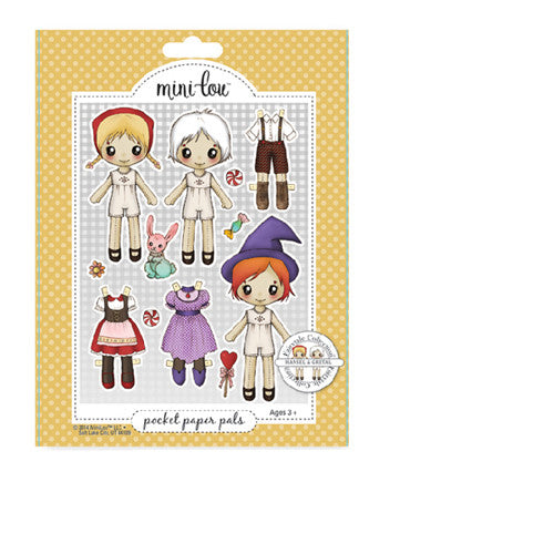 Mini-Lou Hansel and Gretel Bookmark Set