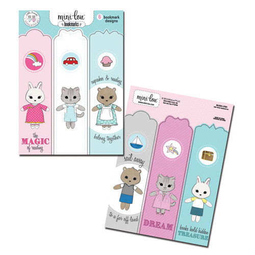 Mini-Lou Little Friends Bookmark Set
