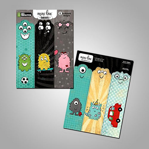 Mini-Lou My Monster Bookmark Set