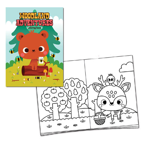 Mini-Lou Woodland Adventures Coloring Bo