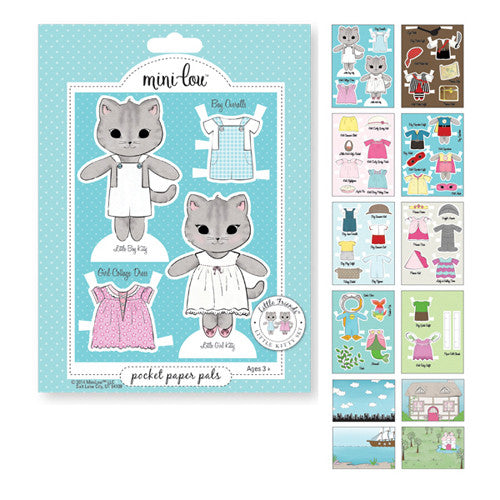 Mini-Lou Little Friends Kitty Pocket Pal