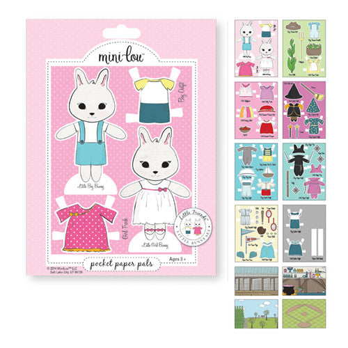 Mini-Lou Little Friends Bunny Pocket Pal