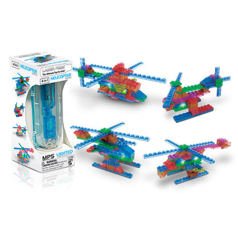 Laser Pegs MPS Helicopter 4 in 1