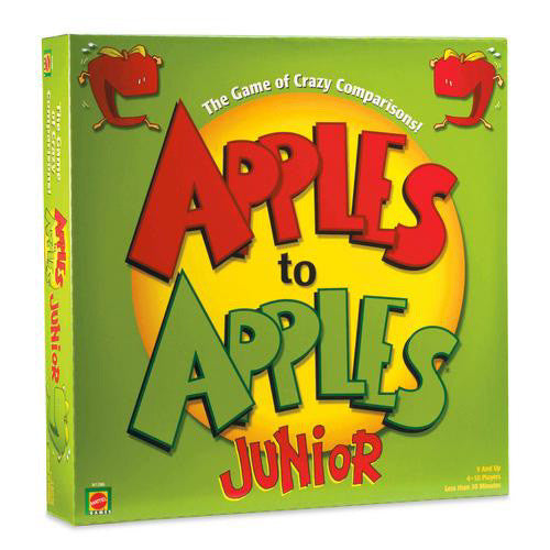 Mattel Apples To Apples Junior Card Game