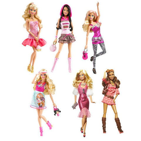 Barbie Barbie Fashionistas Doll Asst