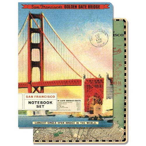 Cavallini San Francisco Notebook Set