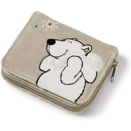 NICI Polar Bear Plush Wallet