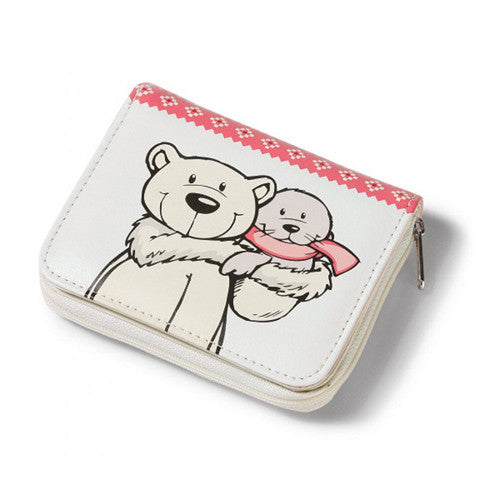 NICI Polar Bear N Seal Leather Wallet