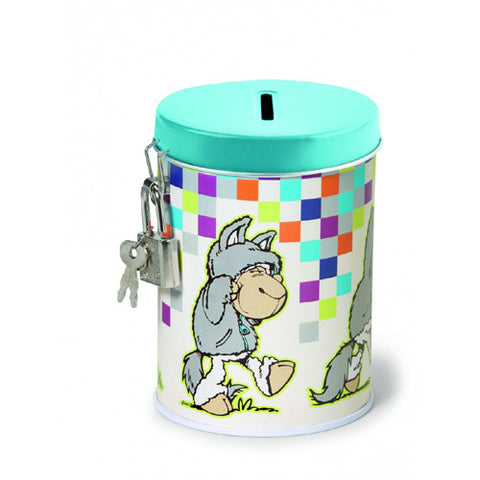 NICI Jolly Logan Sheep Metal Money Bank