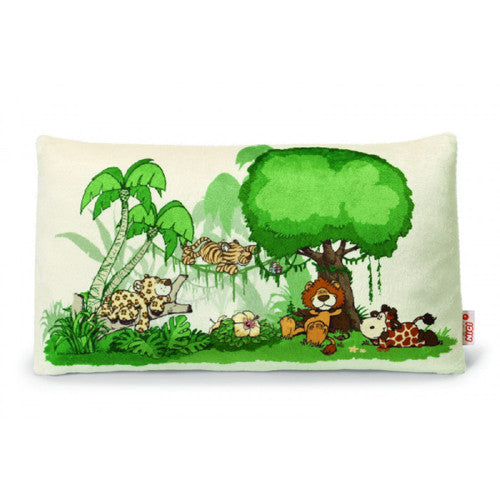 NICI Wild Friends Jungle Scene Pillow