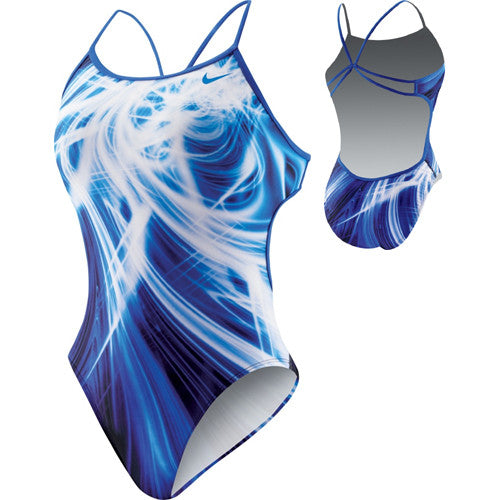 Nike Galactic Opera Modern Cut-Out Tank Royal 40