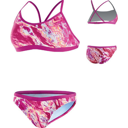 Nike AcidWash Lycra 2pc Fireberry 30