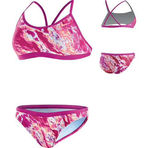 Nike AcidWash Lycra 2pc Fireberry 34