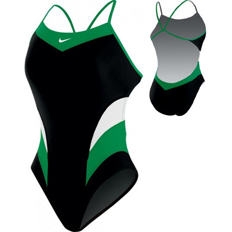 Nike Victory ColorBlock Cut-Out Green 30