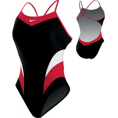 Nike Victory ColorBlock Cut-Out Red 30