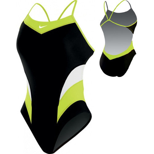 Nike Victory ColorBlock Cut-Out Green 36