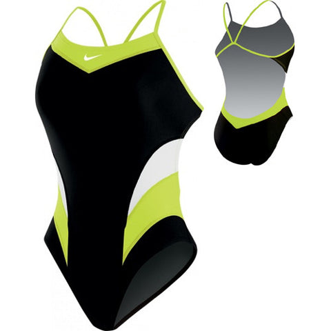 Nike Victory ColorBlock Cut-Out Lime 34
