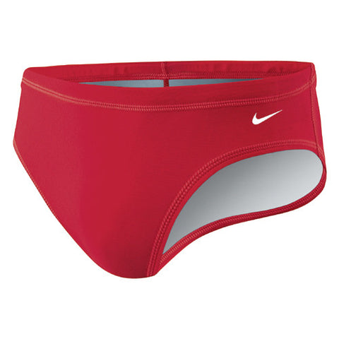 Nike Solid Poly Brief Red 32