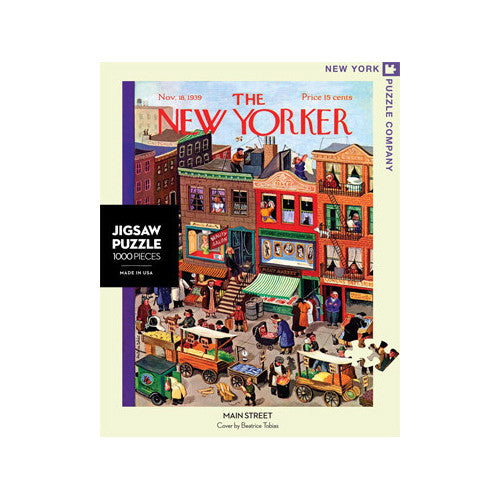 New York 1000pc Puzzle Main Street