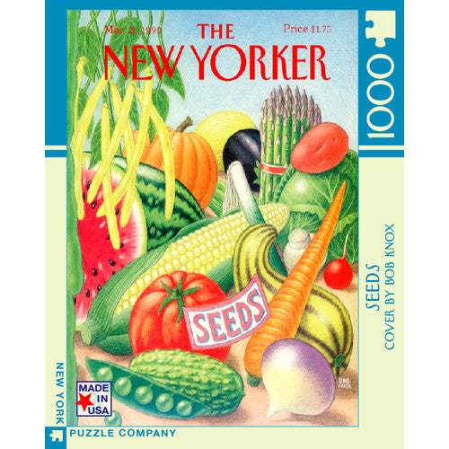 New York Puzzle Seeds 1000pc