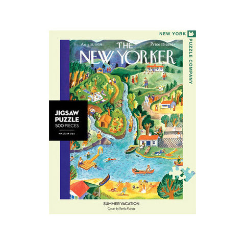 New Yorker Puzzle 500pc Summer Vacation