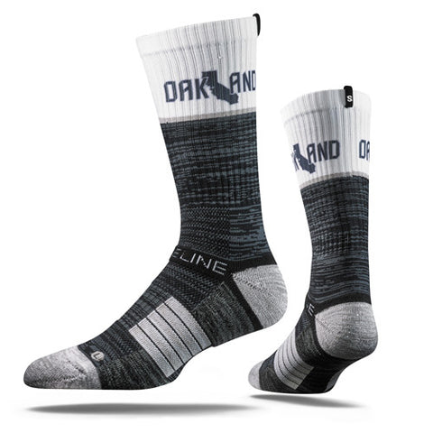 Strideline Socks OAK Raiders Colors One Size