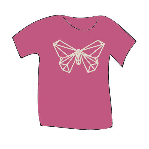 Teres Kids Tee Oragami Butterfly Wild Rose 6.0