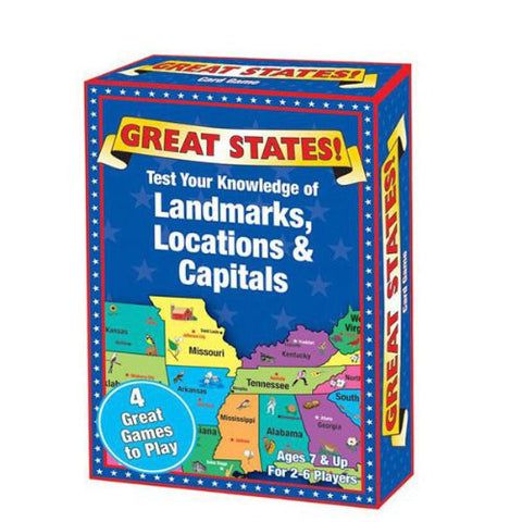 IPlay Great States Card Game