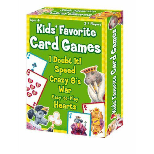 IPlay Kids Favorite Card Games