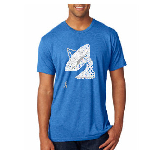PASS Tee Triblend Do the Dish Royal Blue XL