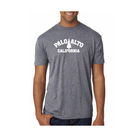 PASS Tee Triblend Trad Tree Premium Heather Grey Medium