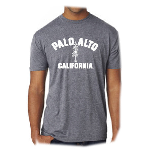 PASS Tee Triblend Circuit Tree Premium Heather Grey Small
