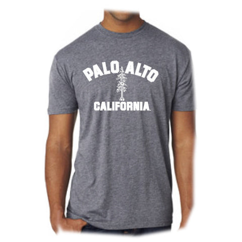 PASS Tee Triblend Circuit Tree Premium Heather Grey Medium