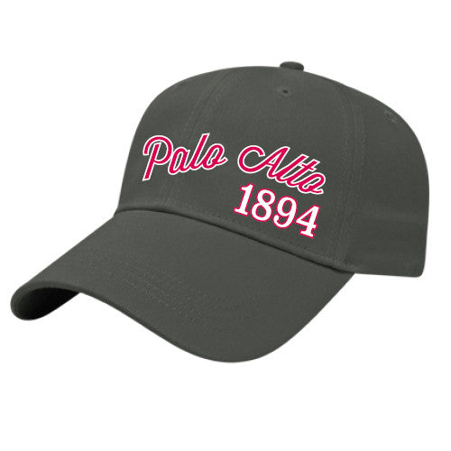 PASS Baseball Hat Palo Alto 1894 Asphalt One Size