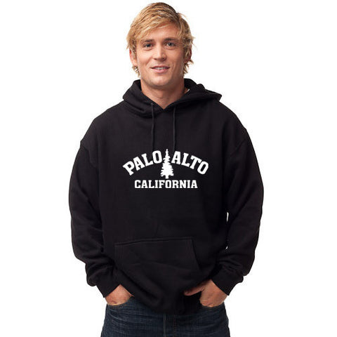 PASS Hoodie Heavy Trad Tree Black Medium
