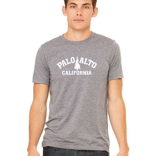 PASS Tee BC Triblend Trad Tree Grey Large