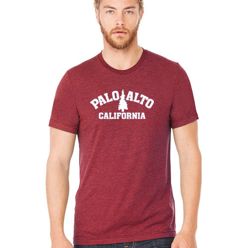 PASS Tee BC Triblend Trad Tree New Cardinal Medium