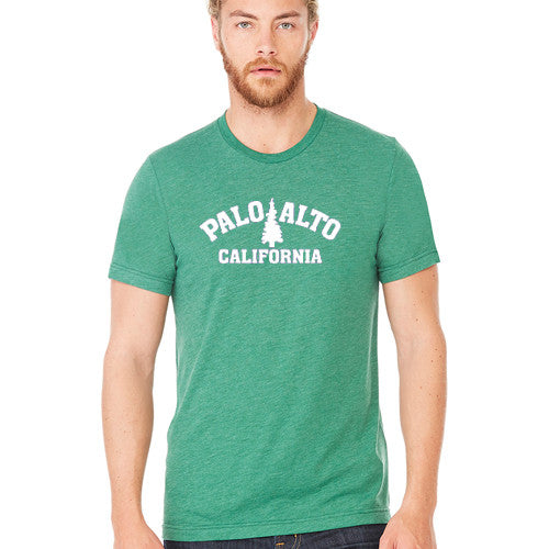 PASS Tee BC Triblend Trad Tree New Grass Green Small