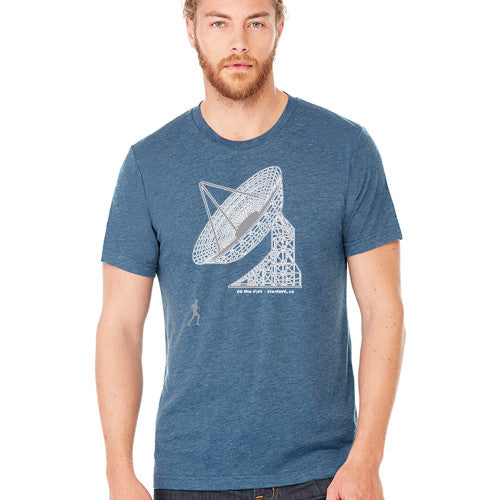 PASS Tee BC Triblend Do the Dish New Steel Blue Small