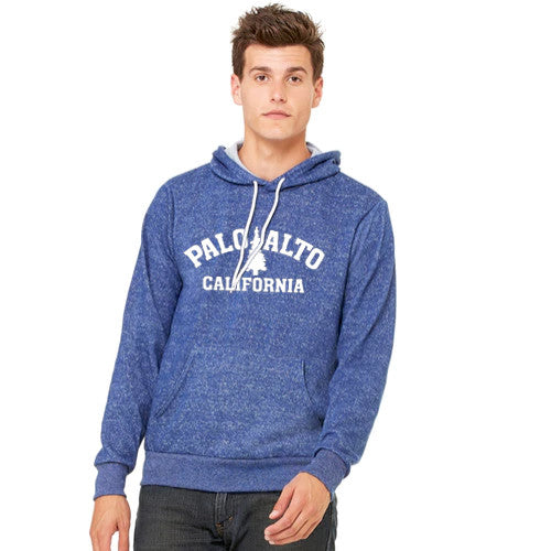 Pass Hoodie Trad Tree BC PC Digital Blue Large