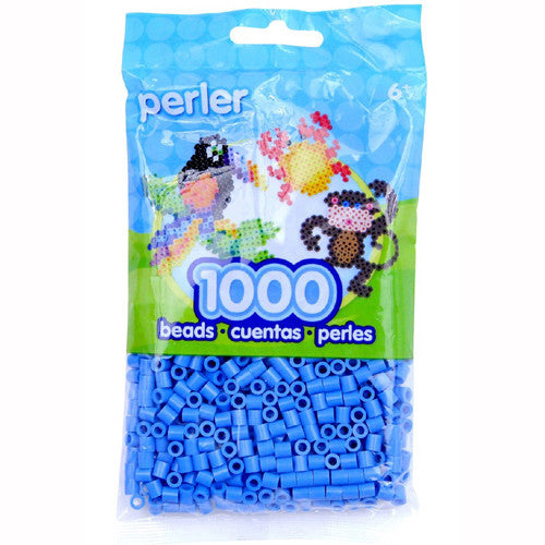 Perler Beads 2.5mm Lt Blue 1000pc