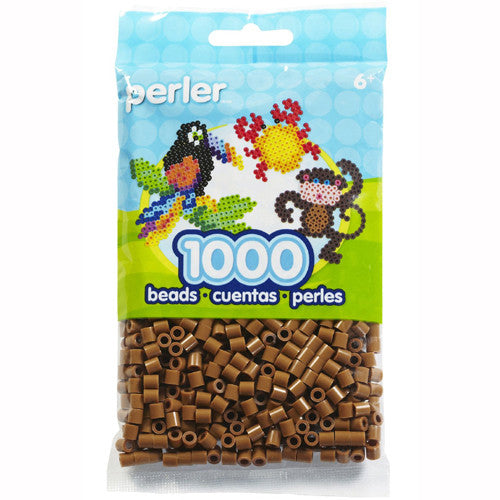 Perler Beads 2.5mm Lt Brown  1000pc