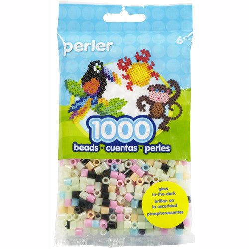 Perler Beads 2.5mm Glow Mix 1000pc