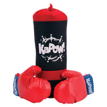 Schylling Punching Bag & Gloves