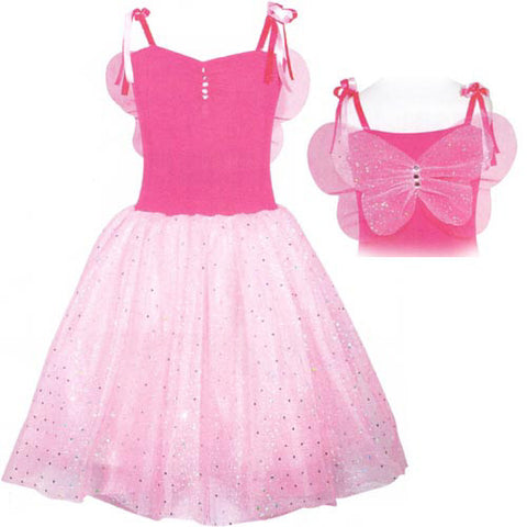 Pink Poppy Fairy Twinkle Dress Hot Pink