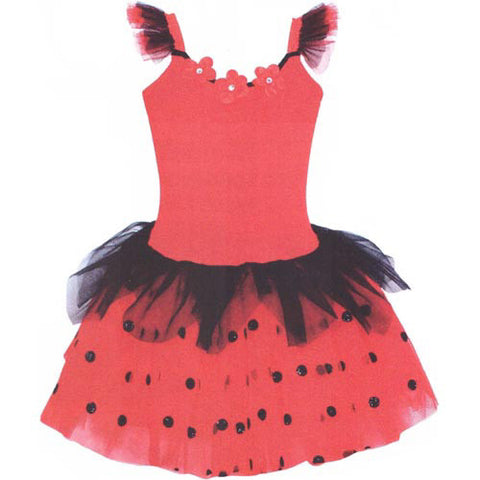 Pink Poppy Ladybug Fairy Dress w/Wings 5