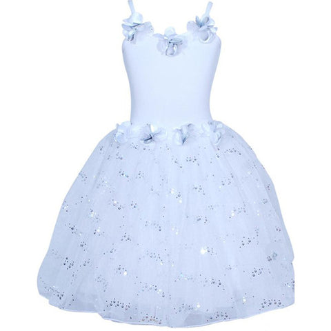 Snow Princess Dress 5/6 White