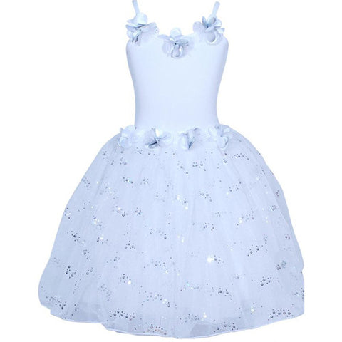 Snow Princess Dress 3/4 White
